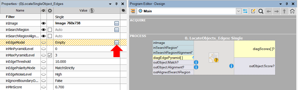 Creating Models For Template Matching
