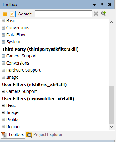 Creating User Filters